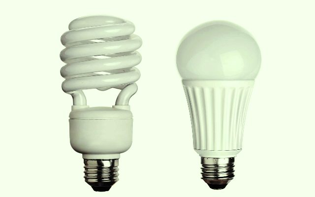 CFL and LED